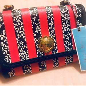 ⭐️HOST PICK⭐️Draper James NWT Floral/Stripe Bag